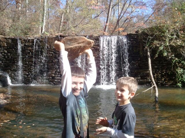 Boys, Water & Rocks
