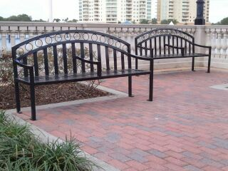 Cranes Roost Park Benches