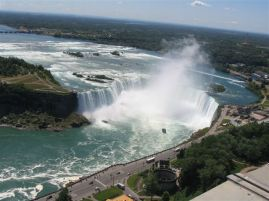 Niagara Falls - Canadian Side (from Skylon Tower)