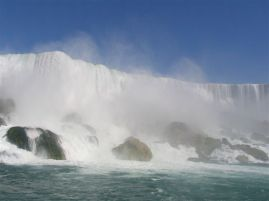 Niagara Falls - US Side (from Maid of the Mist)